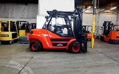 Used 2010 LINDE H80D - West Chicago, IL