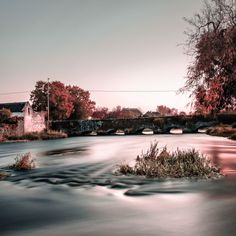 Long exposure of River Suir, Holycross by Guntars Image Photography, Landscape Photography, Travel Photography, Creative Pictures, Creative Art, Long Exposure Photos, Beautiful World, Street Art, Landscapes
