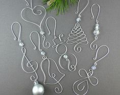Christmas Tree Ornament Hangers Wire Christmas von WireExpressions More More