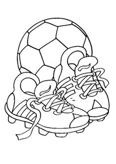 Boy Soccer Player 09 coloring page Kid Stuff Pinterest