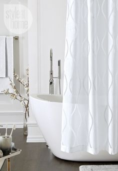 Add These Ingredients To Your Washing Machine Clean Shower Curtain Liner