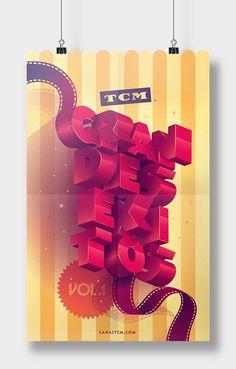 TCM - Grandes éxitos on Behance