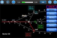 Cool New Sector 33 Game for iPad, iPhone, and iPod Touch. Air Traffic control game...