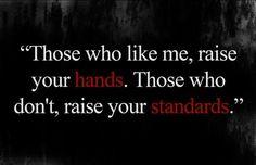 Those who like me..