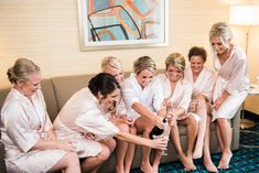 Pop the champagne with your girls for some great photo opportunities  #weddingphotos #weddingphotography #weddingideas