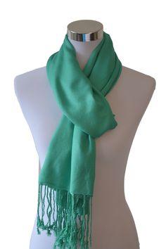 Tvamm Lifestyle Pashmina Schal (Light Green)