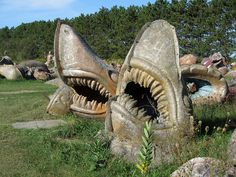 Land Sharks. => http://pinterest.com/bboochie/sharks/