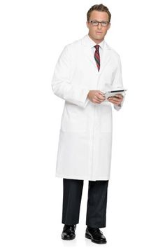 Landau 3138 3138 Mens Lab Coat