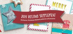 Stampin' Up! Holiday Supplement - October 20 through ???? (while supplies last) : KreatesKards