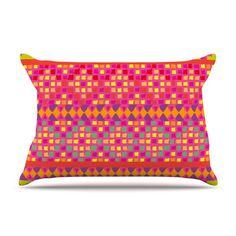 Mexicalli Pillow Case - Kess Inhouse boho tribalpillow