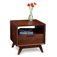 BDI Eras End Table with Drawer