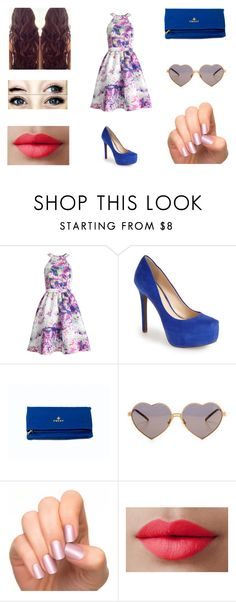 """""""Untitled #54"""" by anachase123 on Polyvore featuring Parker, Jessica Simpson, Wildfox and LORAC"""