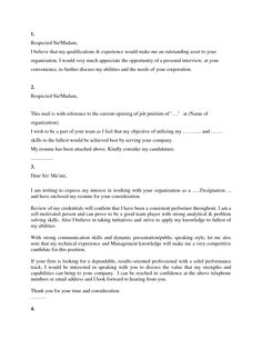 Get Your Cover Letter Template! (four for free | Cover letter ...