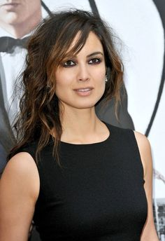 Berenice Marlohe loves a smoky eye!