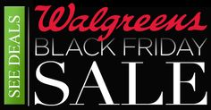 Walgreens Black Friday Ad 2015