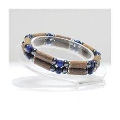 Bracelet double pur noisetier lapis lazuli :http://www.natur-om.com/bijoux/359-bracelet-double-pur-noisetier-lapis-lazuli.html