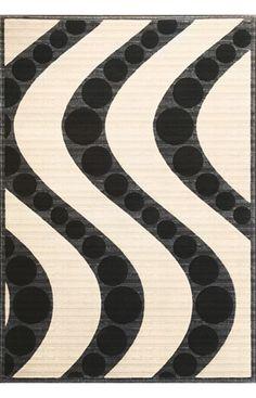 Contemporary -Onyx-Waves