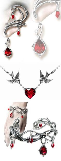 Shop gothic alchemy jewelry for Halloween at RebelsMarket!