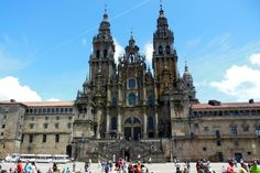 The Camino de Santiago, or the Way of Saint James is a traditional pilgrimage walk ending in Santiago de Compostela in Northern Spain. It is a popular long distance stage walk.