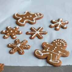 Gingerbread Cookies. Good recipe (makes a lot - freezing some for later). Good taste, keep their shape when baked, and the girls liked decorating them. Can't ask for more than that. p.s. Taste even better a couple of days later. The flavor mellows quite nicely.