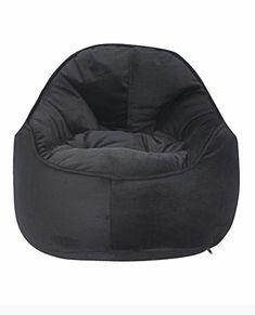 Zoomie Kids Mini Me Pod Bean Bag Chair Upholstery: Black Small Bean Bags, Small Bean Bag Chairs, Toddler Bean Bag Chair, Modern Bean Bags, Bean Bag Lounger, Toddler Furniture, Ikea Chair, Swivel Chair, Chair Upholstery