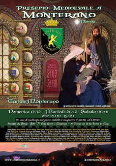 Italia Medievale: Presepio Medioevale a Monterano