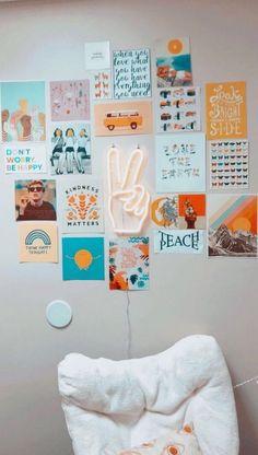 43 Super Ideas For Bedroom Wall Decor Diy Pictures Dorm Room Diy Wall Decor For Bedroom, Cute Room Decor, Home Decor, Bedroom Ideas, Diy Bedroom, Trendy Bedroom, Bedroom Designs, Diy Crafts For Room Decor, Bedroom Wall Pictures