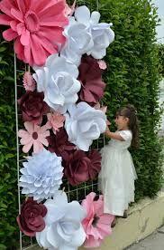 Resultado de imagen para flores gigantes de papel