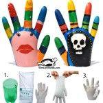 PLASTER HANDS