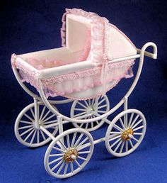 baby carriage by Designs by Janet