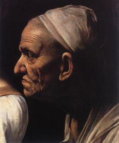 Caravaggio: Judith Beheading Holofernes [detail: 2]
