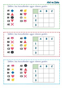 Class Activities, Classroom Activities, Preschool Math, Teaching Math, 1st Grade Math Worksheets, Math For Kids, Thinking Skills, I School, Pattern Blocks
