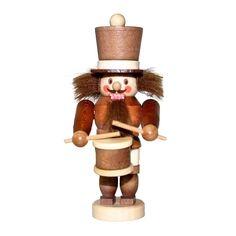 Christian Ulbricht Wood Miniature Drummer Nutcracker (Nutcracker), Brown