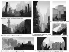 Environment Sketching - CGMA 2D Academy | Andrew Collins