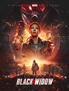Black Widow Movie, Black Widow Scarlett, Black Widow Marvel, Marvel Movie Posters, Marvel Movies, Superhero Movies, Marvel Characters, Marvel Comic Universe, Marvel Cinematic Universe
