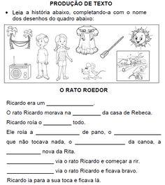 Produção de texto O RATO ROEDOR