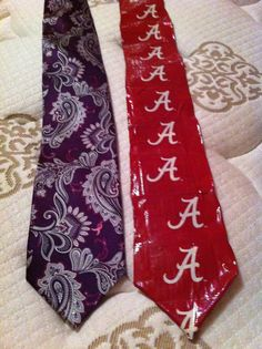 Duct Tape Tie Duck Tape Crafts, Football Fashion, Duct Tape, Ua, Floral Tie, Boyfriend, Tape, Duck Tape, Duct Tape Crafts