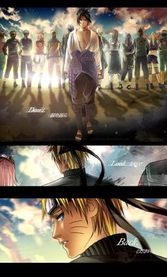 Don't look back - Naruto #anime #manga