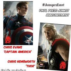 #AvengersEvent Update & Press Junket Interviews Announced!! #MonkeyKingdom    http://africasblog.com/2015/04/06/avengersevent-press-junket/