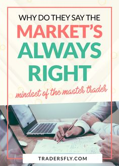 Mindset of a Master Trader - Are you wondering why they say the market is always right? Find out here! #tradingtips Stock Market Basics, Dividend Stocks, Stock Charts, Investing In Stocks, Risk Management, Best Selling Books, Educational Videos, Free Training, Make More Money