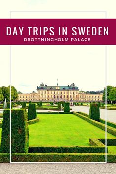 Any trip to Stockholm should have a day trip to Drottningholm Palace scheduled into it. Tips to get to and explore this palace that is still actively used by the royal family. Visit Stockholm, Stockholm Sweden, Travel Europe Cheap, Travel Usa, Budget Travel, Visit Denmark, European Destination, Beach Trip, Beach Travel
