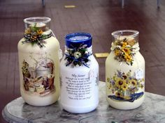 These are some jar candles. Use empty spaghetti jars, ...mylot.com
