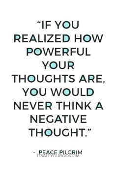 How To Stop Negative Self-talk: 'Thinking Happy Thoughts' Is Not An Option. Negative Thoughts Quotes, Thoughts And Feelings, Positive Thoughts, Positive Self Talk, Negative Self Talk, Positive And Negative, Positive Life, Meaningful Quotes, Inspirational Quotes