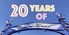 Yesterday marked the 20th anniversary of Downtown Disney at Disneyland Resort – and you can still celebrate with one limited-time deal: Anniversary Dates, Downtown Disney, Disneyland Resort, Disney S, 20 Years, Celebrities, Celebs, Birthday Dates, Anniversary Centerpieces
