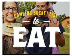 Camping Bucket List - Good Eats