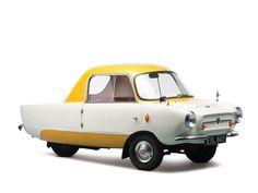 Les Microcars, des mini voitures anciennes,Frisky Family Three 1959