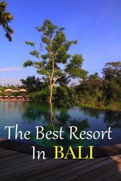 The luxurious Komaneka Tanggayuda Resort in Ubud, Bali.