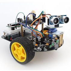 Robot Kits, Smart Car, Diy Electronics, Kit Cars, Arduino, Monster Trucks, Vehicles, Ds, Raspberry