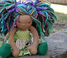 Emerald by Dragonfly's Hollow, via Flickr
