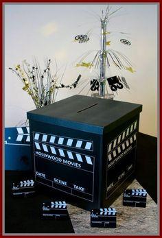 Urne mariage à prix discount sur le thème du cinéma, laissez-vous séduire par notre large gamme de tirelires de mariage